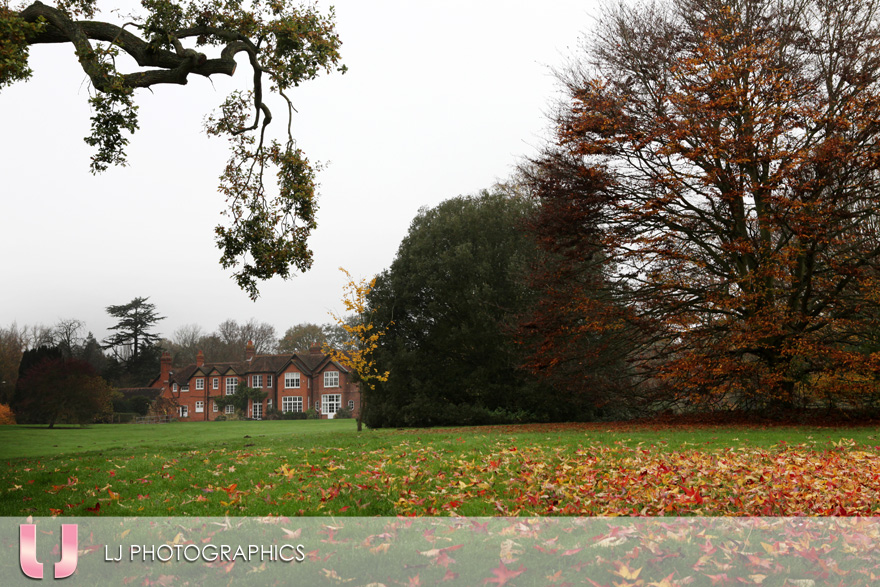 Shinfield Grange in Autumn/Winter