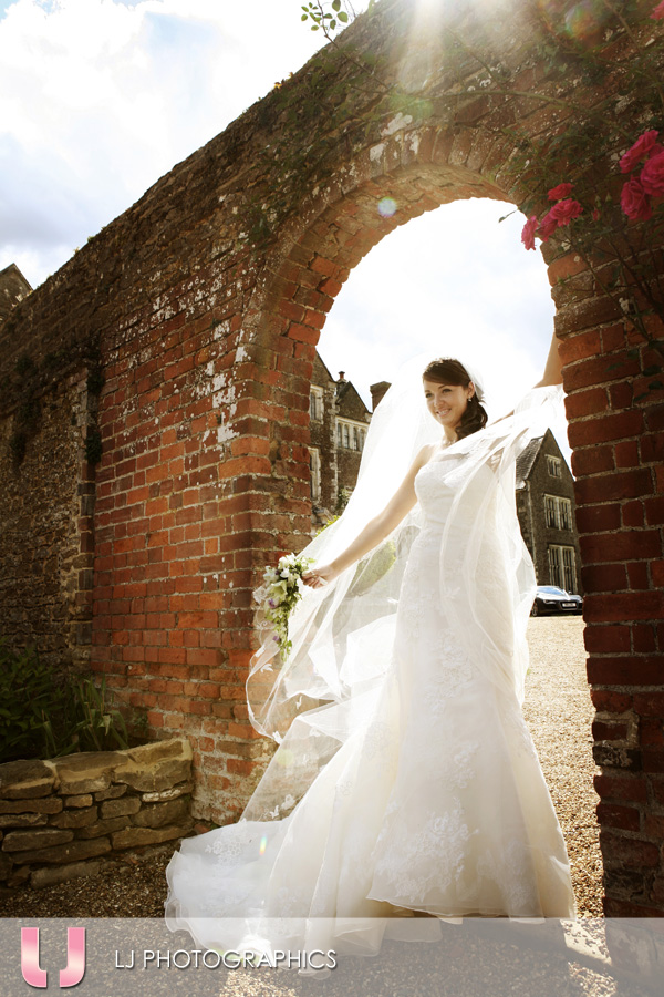 Bride at Loseley Park