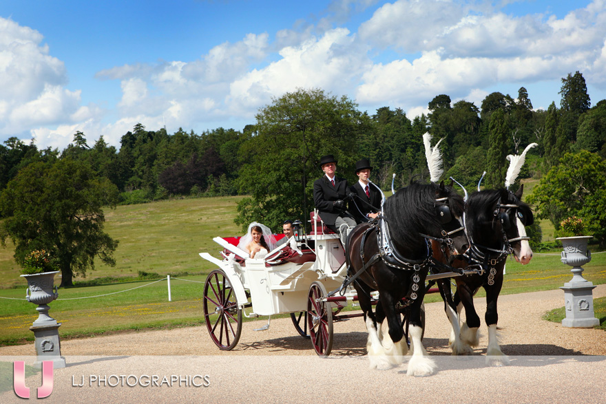 Horse Drawn Carriage, every little girls wedding dream?