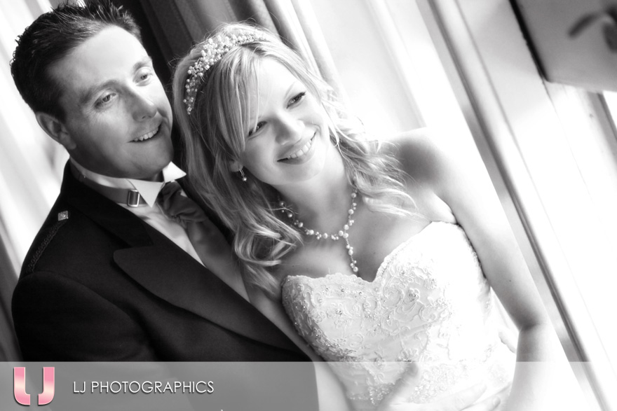 Wedding photographers at Oakley Court